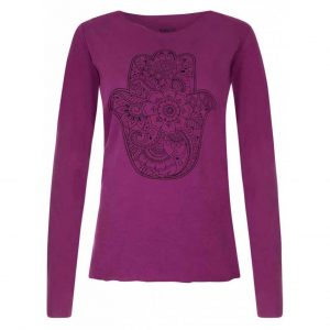 Urban Goddess Yoga Shirt Protection - Very Berry
