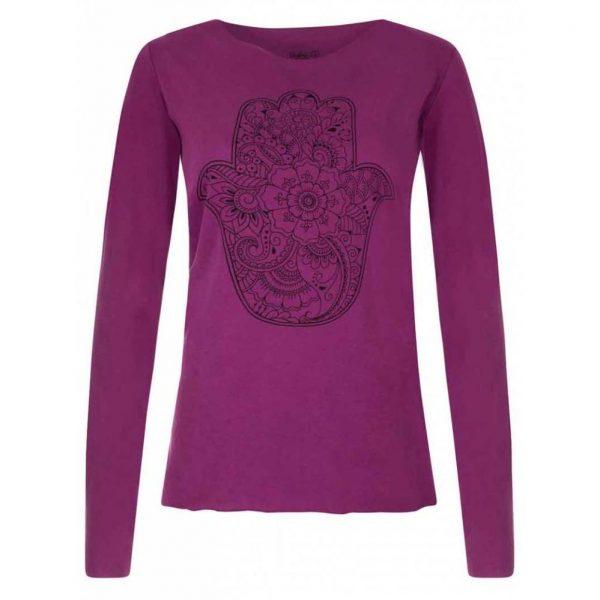 Urban Goddess Yoga Shirt Protection - Very Berry
