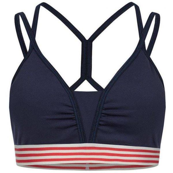Zense Yogawear Yoga BH Bibi - Blauw