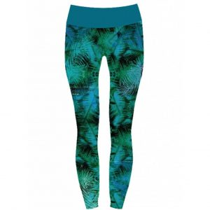 Monique Rotteveel Yoga Legging -  Deep Jungle