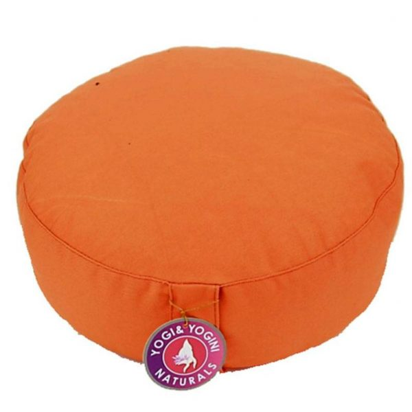 Yogi&Yogini Meditatiekussen Oranje 17x33cm