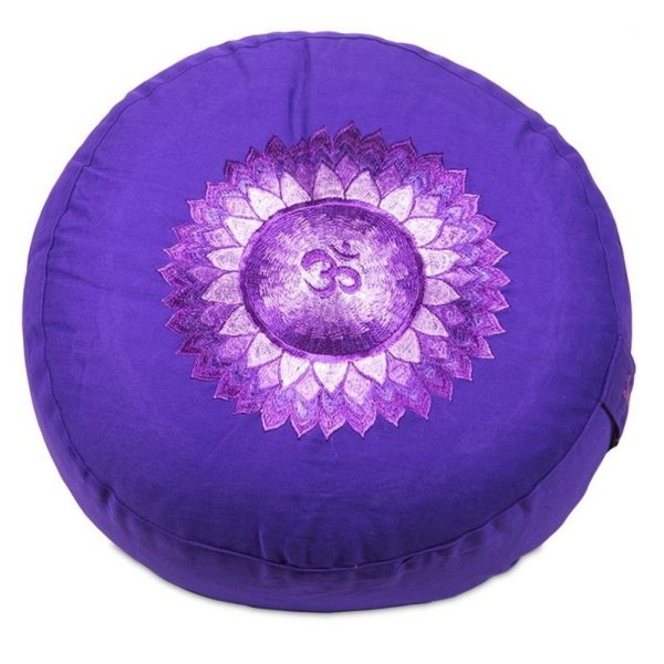 Yogi&Yogini Meditatiekussen Zevende Chakra Sahasrara - Violet