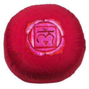 Yogi&Yogini Meditatiekussen Eerste Chakra Muladhara- Rood