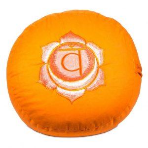 Yogi&Yogini Meditatiekussen Tweede Chakra Swadhishthana - Oranje