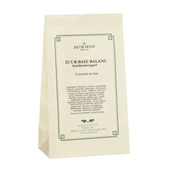 Jacob Hooy Zuur-base balans thee kruiden 80 gr - Jacob Hooy