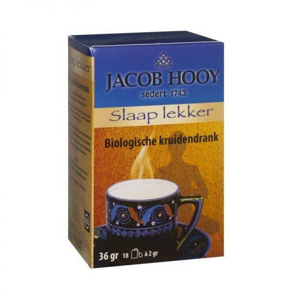 Jacob Hooy Bio thee Slaap Lekker 18 zakjes - Jacob Hooy