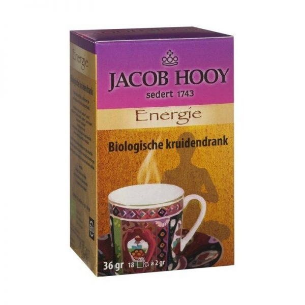 Jacob Hooy Bio Energie thee 18 zakjes - Jacob Hooy