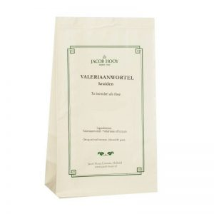 Jacob Hooy Valeriaanwortel thee kruiden 80 gr - Jacob Hooy