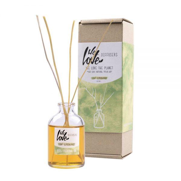 We love the planet Geur diffuser 50ml - We Love The Planet - Light Lemongrass