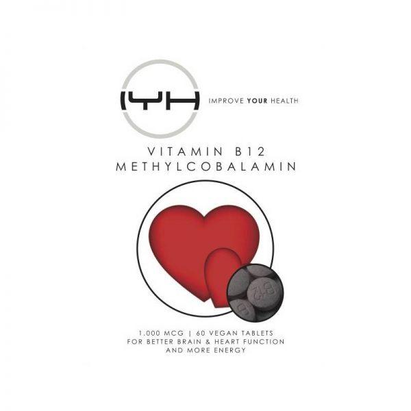 Improve Your Health Vitamine B12 Methylcobalamine 1.000 mcg 60 tabs - Improve Your Health
