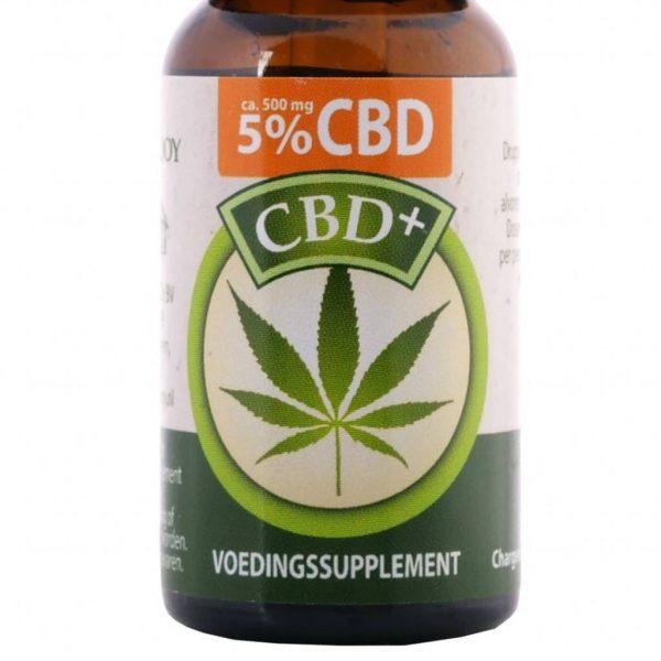 Jacob Hooy CBD olie 5% 10ml- Jacob Hooy