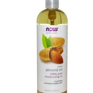 Organic Sweet Almond Oil (237 ml) - Now Foods