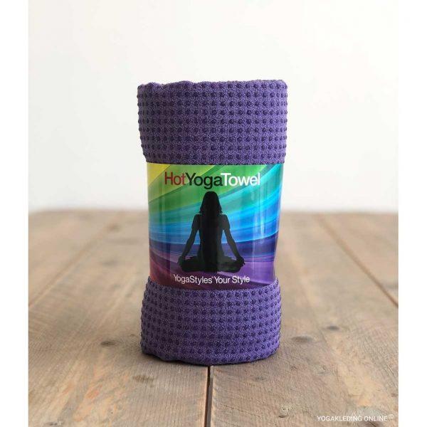 YogaStyles Hot Yoga Handdoek EKO? Paars