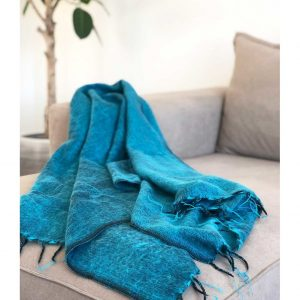 Yogi&Yogini Meditatie Omslagdoek - Turquoise
