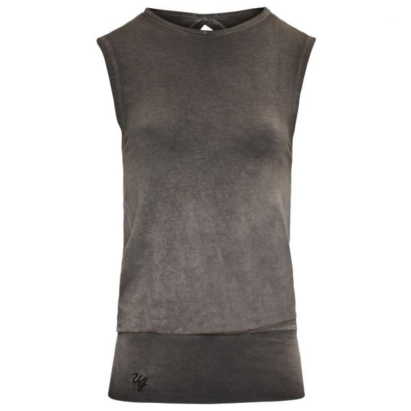Urban Goddess Yoga Top Bhav - Off Black