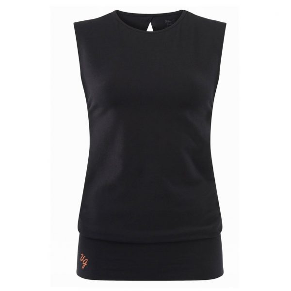 Urban Goddess Yoga Top Bhav - Urban Black