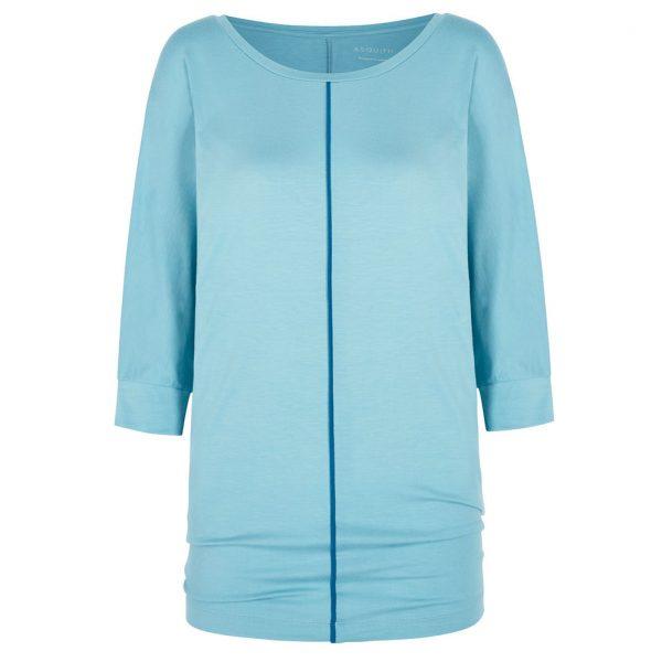 Asquith Yoga Shirt Be Grace Batwing - Aqua/Teal
